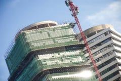现代楼房建筑-公寓单元 免版税库存照片