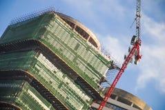 现代楼房建筑-公寓单元 库存图片