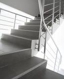 现代楼梯 免版税库存图片