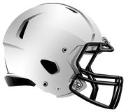 现代橄榄球盔的例证 免版税库存图片
