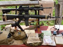 现代武器 免版税库存照片