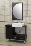 现代水槽 免版税库存图片
