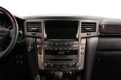 现代汽车的控制板 库存照片