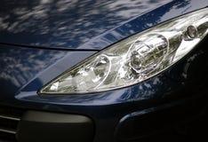 现代汽车的车灯 免版税库存照片
