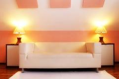 现代沙发 库存图片