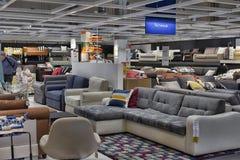 现代沙发 库存照片