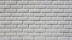 现代浅灰色的砖墙 背景和纹理 免版税库存图片