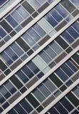 现代玻璃墙 免版税库存照片