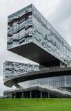 现代玻璃大厦 免版税库存图片
