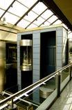 现代电梯的futuris 免版税库存照片
