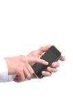 现代电话 免版税库存图片