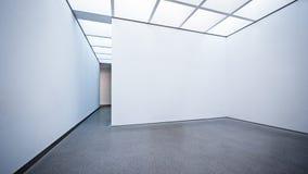 现代画廊 库存图片