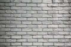 现代白色灰色砖墙织地不很细背景 免版税库存图片
