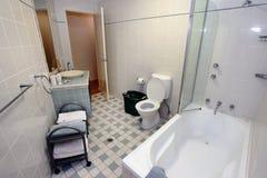 现代的卫生间 免版税库存图片