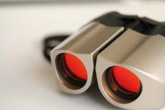 现代的双筒望远镜 免版税库存图片