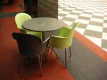 现代的咖啡馆 免版税库存图片