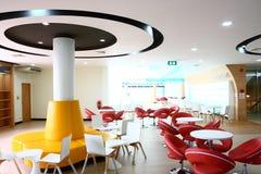 现代的咖啡馆 图库摄影
