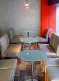 现代的咖啡馆 库存图片
