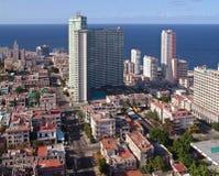 现代的哈瓦那 库存照片