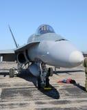现代的喷气式歼击机 免版税库存图片