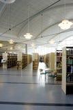 现代的图书馆 免版税库存图片
