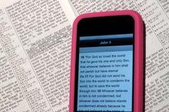现代的圣经 库存照片