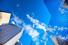 现代的城市 免版税库存图片