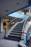 现代的大厅 免版税库存图片