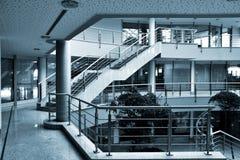 现代的大厅 免版税库存照片