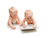 现代的婴孩 免版税图库摄影