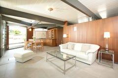 现代的客厅 免版税库存照片