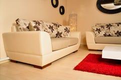现代的家具 免版税库存图片