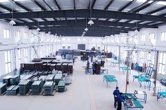现代的工厂 免版税库存照片