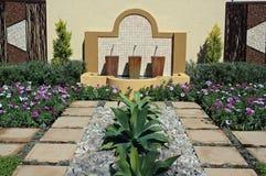 现代的庭院 库存图片