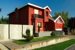 现代的房子 免版税库存照片