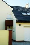 现代的房子 库存照片