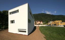 现代的房子 图库摄影