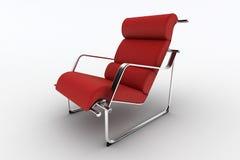 现代的扶手椅子 免版税库存图片