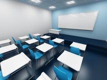 现代的教室 免版税库存图片