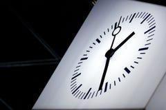 现代的时钟 库存照片