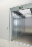 现代的电梯 库存照片
