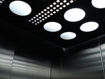 现代的电梯 免版税库存图片