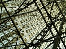 现代的结构 库存照片