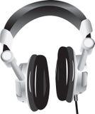现代的耳机 库存图片