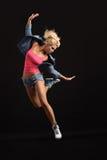 现代的舞蹈演员 免版税图库摄影