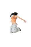 现代的舞蹈演员 库存照片