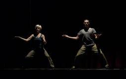 现代的舞蹈 库存照片