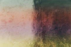 现代的艺术 当代艺术 艺术性的墙壁油漆 免版税库存照片