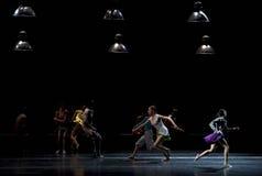 现代的芭蕾舞剧舞蹈演员1 免版税图库摄影