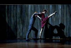 现代的芭蕾舞剧舞蹈演员2 库存图片